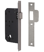 Thumbnail of Union JL2C24 DIN - Euro Cylinder Nightlatch Case (83mm) SQ (Stainless Steel)