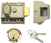 Thumbnail of Yale 706 - Standard Night Latch (40mm, Bronze, Polished Brass)
