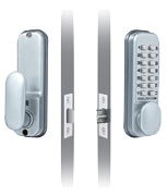 Thumbnail of Codelocks CL155 Door Lock (Satin Chrome)