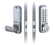 Codelocks CL255 - Key Override (Stainless Steel)