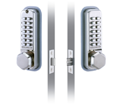 Codelocks CL290 - Back to Back (Stainless Steel)