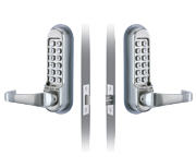 Codelocks CL510 - Back to Back (Stainless Steel)