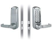 Codelocks CL610 - Key Override (Stainless Steel)