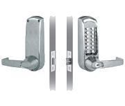 Codelocks CL615 - Key Override (Stainless Steel)