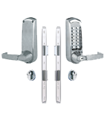 Thumbnail of Codelocks CL620 - Key Override & Sashlock (Stainless Steel)