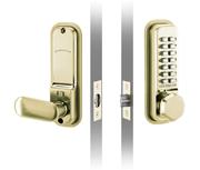 Codelocks CL255 (Polished Brass)