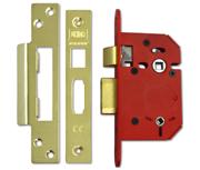Thumbnail of Union J22WC StrongBOLT - Bathroom Lock (68mm, Polished Brass)