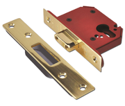 Thumbnail of Union JL21EU StrongBOLT - Euro Cylinder Deadcase (81mm, Polished Brass)