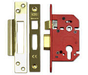 Thumbnail of Union JL22EU StrongBOLT - Euro Cylinder Sashcase (68mm, Polished Brass)