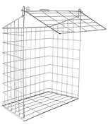 Thumbnail of Small Letter Cage (Chrome)