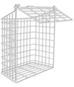 Thumbnail of Medium Letter Cage (White)
