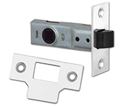 Union Essential - Tubular Latch (64mm, Bright Zinc)