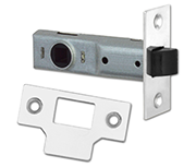 Union Essential - Tubular Latch (75mm, Bright Zinc)