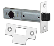Union Essential - Tubular Latch (89mm, Bright Zinc)