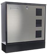 Designer - Steel Post Box
