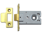 Legge 3708 - Flat Pattern Latch (64mm, Polished Brass)