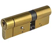 Yale Anti-Snap - Euro Double Cylinder 55 - 35 (90mm Polished Brass)