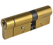 Thumbnail of Yale Anti-Snap - Euro Double Cylinder 55 - 35 (90mm Polished Brass)
