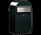 Bobi - Grande Dark Green Letter Box