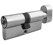 Asec 5 Pin - Euro Thumbturn Cylinder 30 - 30 (60mm Nickel Plated)
