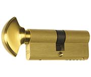 ERA 6 Pin - Euro Thumbturn Cylinder 35 - 35 (70mm Polished Brass)