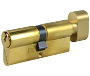 Thumbnail of Legge 803 - Euro Thumbturn Cylinder 35 - 35 (70mm Polished Brass)