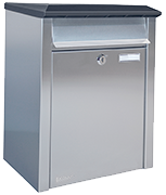 Bobi - Xpress Stainless Steel - Front Loading 25Ltr Large Post Box