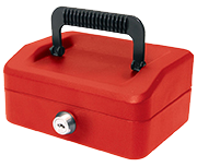 Thumbnail of Small Helix Cash Tin - Red