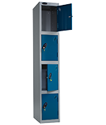 Thumbnail of Probe 4 Door - Extra Wide Coin Operated Locker