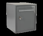 DAD009 Dark Grey - Secured by Design Post Box