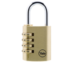 Yale Y150 40mm Brass Combination Padlock