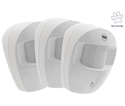 Thumbnail of Yale Easy Fit Pet PIR Motion Detector (3 pack)
