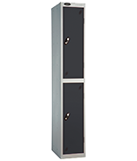 Probe 2 Door - Extra Deep Black Locker