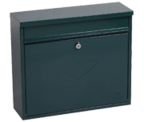 Thumbnail of Correo Green - Steel Post Box