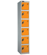 Thumbnail of Probe 6 Door - Extra Deep Orange Locker
