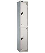 Probe 2 Door - Wide Grey Locker