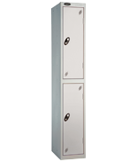 Probe 2 Door - Wide Grey Locker
