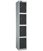 Thumbnail of Probe 4 Door - Extra Wide Black Locker