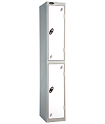 Thumbnail of Probe 2 Door - Extra Wide White Locker