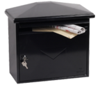 Thumbnail of Libro Black - Steel Post Box