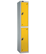 Thumbnail of Probe 2 Door - Extra Wide Yellow Locker