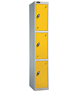 Thumbnail of Probe 3 Door - Extra Wide Yellow Locker