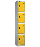 Thumbnail of Probe 4 Door - Extra Wide Yellow Locker