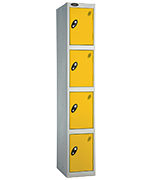 Thumbnail of Probe 4 Door - Extra Wide Yellow Locker