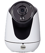 Yale Smart Living Wi-Fi Camera with Pan, Tilt & Zoom