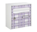 Thumbnail of Violet Design - Steel Post Box