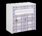 Thumbnail of Violet Design - Steel Post Box