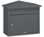 Brabantia - B560 Dark Grey Post Box