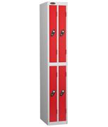 Thumbnail of Probe 4 Door - Ultra Slim Red Locker