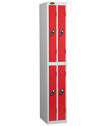 Thumbnail of Probe 4 Door - Ultra Slim Red Locker